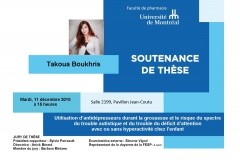 PhD Defense - Ms. Takoua Boukhris